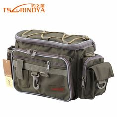 Tsurinoya Brand All In One Canvas Multifunctional Waist Pack, Messenger Bag, and Shoulder Bag. Fishing Tackle Bags, Fishing Tools, Fish In A Bag, Waist Pack, Multifunctional, Messenger Bag, All In One, Sports Bags, Shoulder Bag
