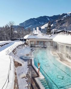 Grand Tirolia Golf & Ski Resort Kitzbühel, Austria.  #Regram @we.love.hotels