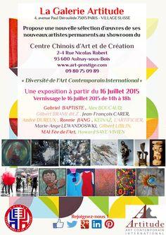 #Galerie #Artitude #Exposition #Centre d'Art et de Création d'Aulnay