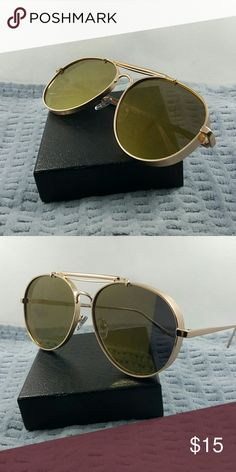 14ad2b1f2137 2017 aviator Style woman Fashion trendy Sunglasses 2017 aviator Style woman  Fashion trendy Sunglasses silver frame orange lens with uv 400 protection  look ...