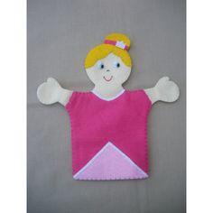 Marionnette feutrine PRINCESSE