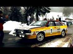 #Audi #quattro 30 años de quattro: Col de Turini True Legend, Four Wheel Drive, Audi Quattro, Car, Youtube, Period, Automobile, Cars, Youtubers
