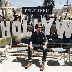 """@iamgalla wearing the """"Morrison"""" boot. #catboots #cbotd #hollywood"""