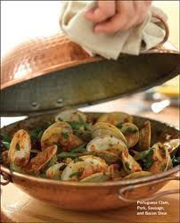 Cataplana pan from Portugal, I brought one home. Portugal, Butterflied Pork Chops, Big Kitchen, Kitchen Tools, Portuguese Recipes, Portuguese Food, Pork Chop Recipes, Great Recipes, Yummy Recipes