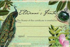 20 Dollar Gift Certificate Towards Any Merchandise in by Eldwenne, $20.00