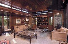 Clarence Sondern residence. 1940. Kansas City, Missouri. Usonain Style. Frank Lloyd Wright