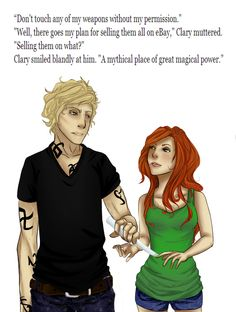 Jace & Clary, City of Bones