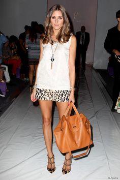 <p>Detalle del look sexy + chic que lució Olivia Palermo para el desfile de Noon by Noor Fashion durante la New York Fashion Week el 7 de septiembre de 2012 en Nueva York.</p> <p></p>