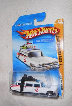 HOT WHEELS GHOSTBUSTERS ECTO-1 Car -http://northdallastoyshow.wix.com/toys