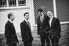 Brisbane Wedding Photographers - groom and groomsmen, Christopher Thomas Photography St Margaret, Groom And Groomsmen, Lace Bodice, Looking Stunning, Brisbane, Wedding Gowns, Photographers, Wedding Photography, Club