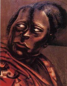 Head of a Woman - David Alfaro Siqueiros