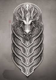 Image result for armor tattoos