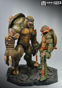 Slash Teenage Mutant Ninja Turtles (Teenage Mutant Ninja Turtles) Custom Action Figure