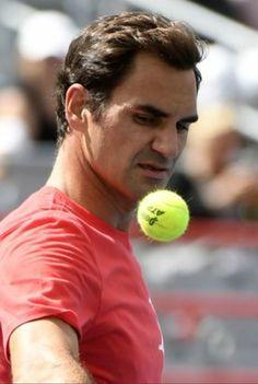 Roger Federer Aug. 2017