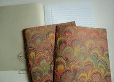 marbled paper note books - Buscar con Google