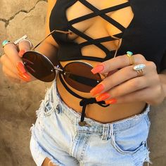 $8 SUNNIES TONIGHT😍🔥 ✨HURRY & USE CODE: 12K FOR 20% OFF!✨ WWW.JMARIECOLLECTION.COM #jmarieco #jewelry #accessories #fashion #sunglasses #ring #necklace #ootd #outfit #summer #amrezy #wakeupandmakeup #mua #motd #hudabeauty #hair #makeup #vegas_nay #boho #friday #instafashion #style #dailyfashion #cute #love #trend #instagood #bestoftheday #rockjmarie