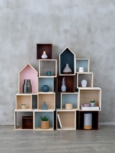Display boxes for every room and occasion - design by Bloomingville