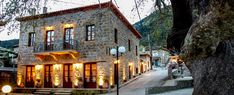 Mountain Homes, Greece, Places To Visit, Cabin, Country, House Styles, Dream Trips, Travel, Beautiful