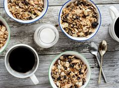 Ginger, Coconut & Quinoa Granola - Dishing Up the Dirt