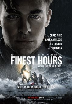 [Movie 290] The Finest Hours (2016) Director: Craig Gillespie #DLMChallenge #366Movies #366Days