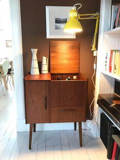 Teak barskap | FINN.no Retro Furniture, Credenza, Buffet, Cabinet, Living Room, Storage, Home Decor, Modern, Clothes Stand