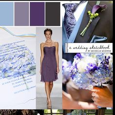 Love this color pallet for a wedding