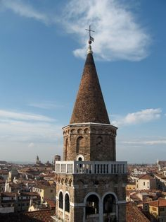 Top  of the Bauer Hotel Venice Italy