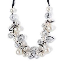 I love the Catherine Stein Designs Cluster Necklace from LittleBlackBag