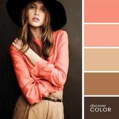 La pose, y los colores