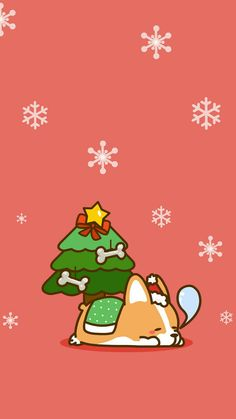 Awesome Navidad 3 iPhone X Wallpaper 320600067220424382 # Corgi Wallpaper, Wallpaper Natal, Iphone Wallpaper Kawaii, Xmas Wallpaper, Christmas Phone Wallpaper, Winter Wallpaper, Locked Wallpaper, Cute Wallpaper Backgrounds, Animal Wallpaper