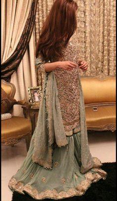Pakistani Party Wear, Pakistani Wedding Outfits, Eid Outfits, Bridal Outfits, Simple Pakistani Dresses, Simple Dresses, Desi Wedding Dresses, Bridal Dresses, Dress Indian Style