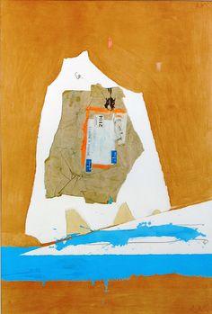 camarch:    Cambridge Collage, Robert Motherwell (1963)