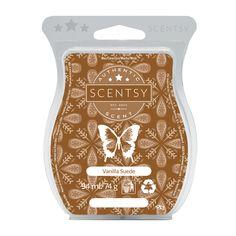 #vanilla #waxbar #waxmelt #vanillasuede #roseandbeescentsy #scentsy