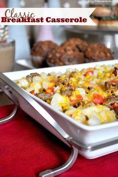 ... breakfast on Pinterest | Breakfast casserole, Sausages and Breakfast