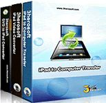 60% Off - 3herosoft iPad Mate. 3herosoft iPad Mate is professional discount package of iPad software specially made for iPad users. It consists of 3 powerful tools, iPad Video Converter, DVD to iPad Converter and iPad to Computer Transfer.