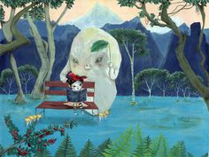 My imaginary friend-inspired by Totoro