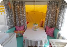 I am done. This has been the shortest two weeks everrrr. I am some kind of crazy for thinking I was up to the challenge of renovating the inside of a pop up camper in 14 days. Did I mention it i...