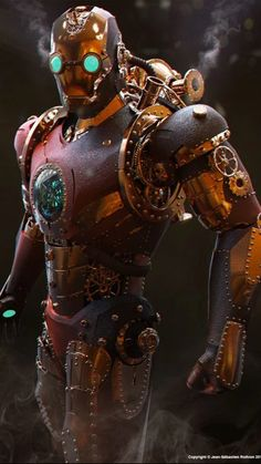 IronMan gone Steampunk