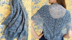 Knitting Lace - lk2g-020 - YouTube
