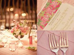 Lilly-themed bridesmaids' brunch! #LillyPulitzer #SouthernWeddings