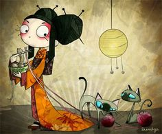 Recogedor: La Pendeja - Ilustraciones