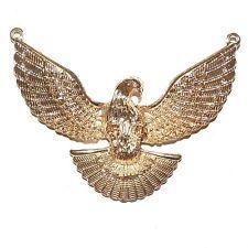 Gold Eagle Focal 102x85mm Metal Alloy Jewelry Component Pendant 1/pkg M5120L2