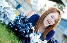 #photography #senior #cheerleader #poses
