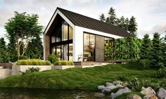Greenhouse-like 'cabin in the woods' features lush vertical gardens inside | Inhabitat - Green Design, Innovation, Architecture, Green Building