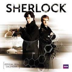 Official Sherlock 2014 Calendar - Do not get excited! Just click and check out the prices.