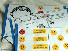 Emozioni in gioco: un libro-gioco sulle emozioni da stampare ed assemblare