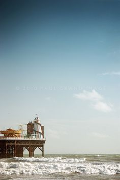 Brighton Pier:: Look at that water...