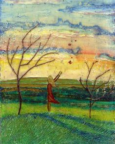 Fiaba per Ada_ painting Emanuele Capozza