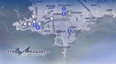 L' #Uruguay è un paese accogliente dove non esiste il reato di clandestinità... Tutto ciò che serve per trasferirsi nel paese con la mappa degli uffici utili a #Montevideo: http://ow.ly/KnR9V