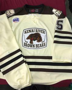 4ad50a750af Kenai River Brown Bears custom 2016-2017 game jerseys & socks. K1  Sportswear is